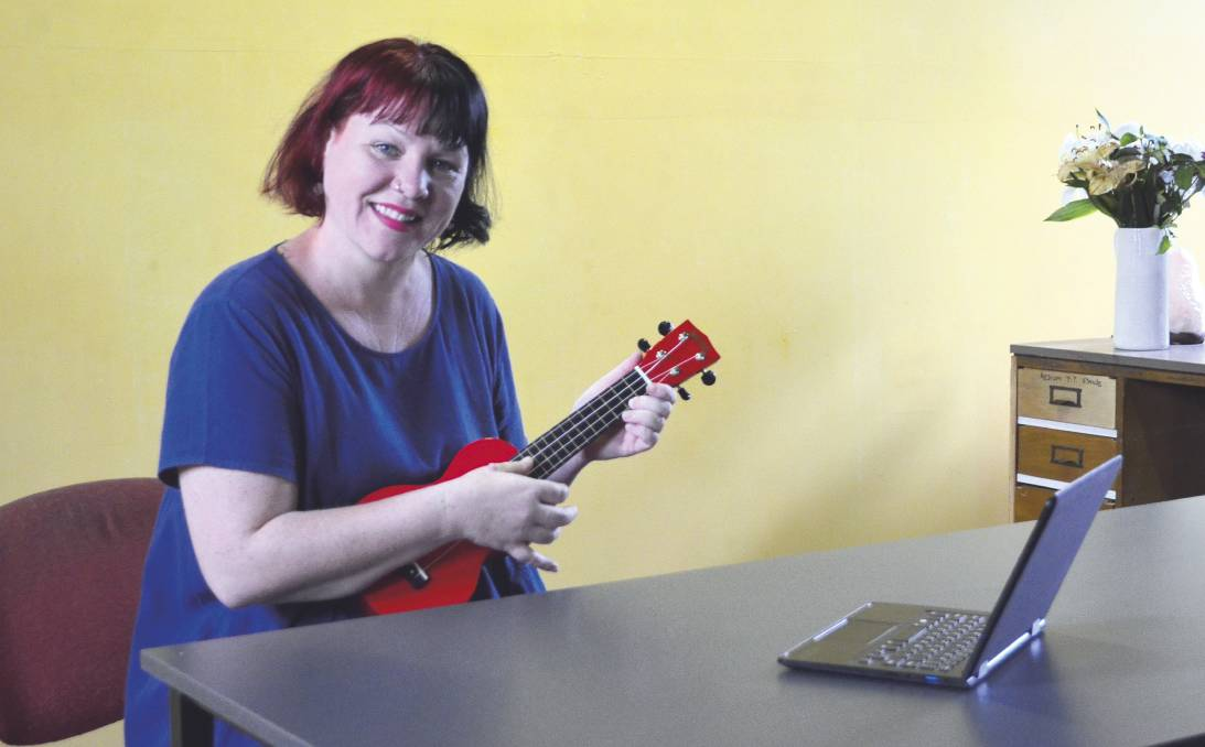 STAY CONNECTED: Wild Learning founder Emmie Hallett will lead Cessnock Sings, an online singalong on March 28.