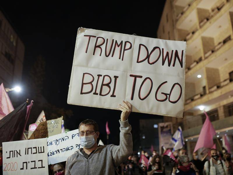 There are mixed feelings among Israelis at the defeat of US President Donald Trump .