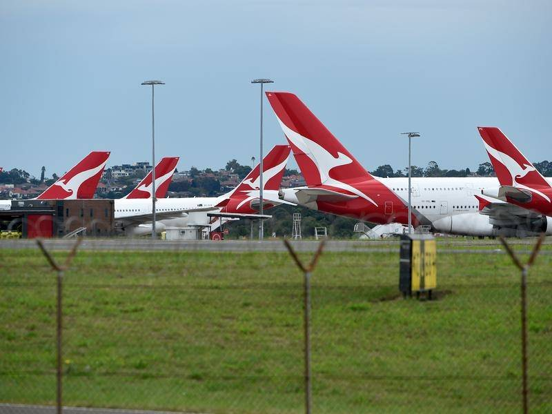If most Qantas and Virgin planes are grounded for nine months emissions will dramatically decrease.